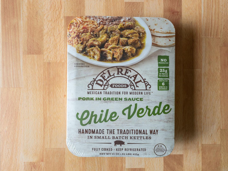Del Real Foods Pork Chile Verde