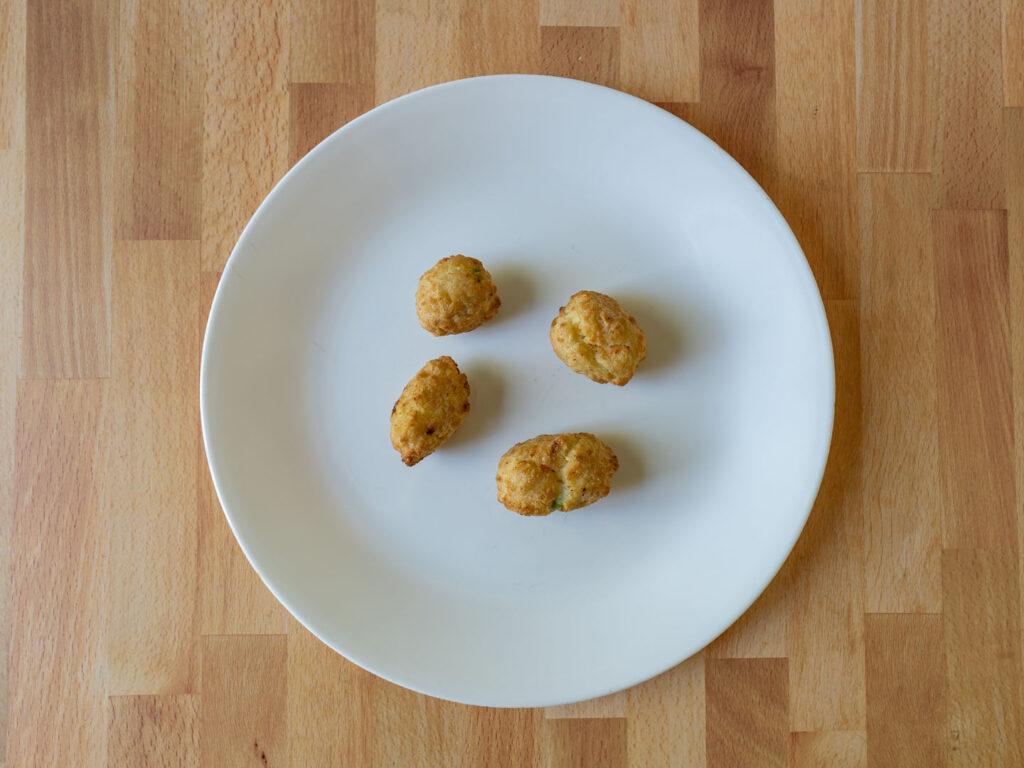 Stouffer's Chicken Pot Pie Bites air fried