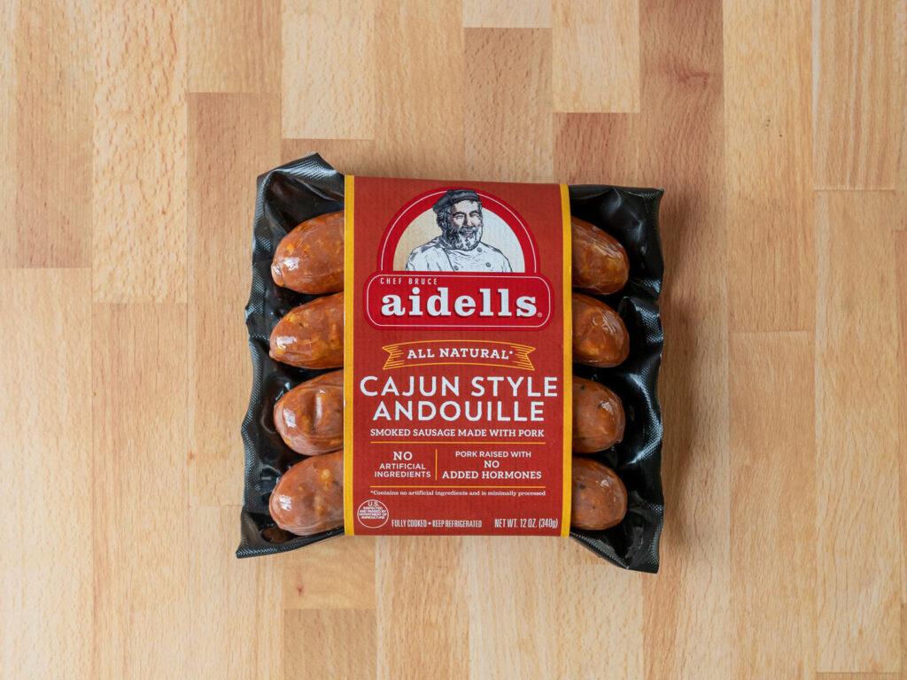 Aidells Cajun style Andouille