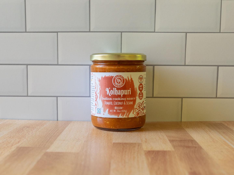 Nummy Nibbles Kohlapuri sauce