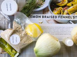 Purple Carrot - lemon braised fennel recipe and ingredients