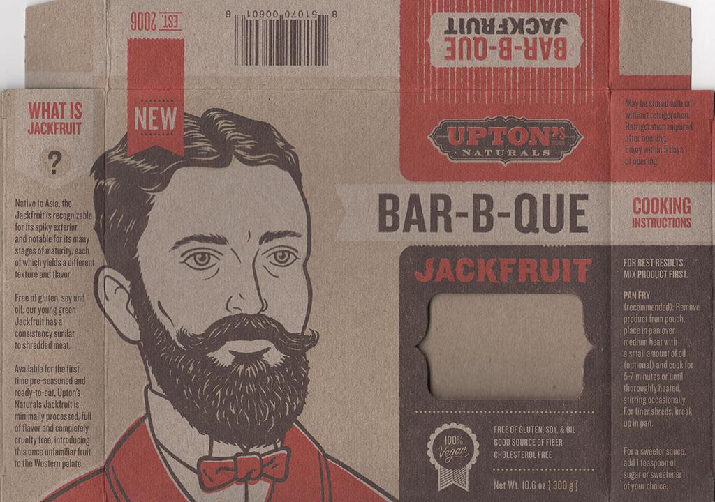 Upton's Naturals BBQ Jackfruit front