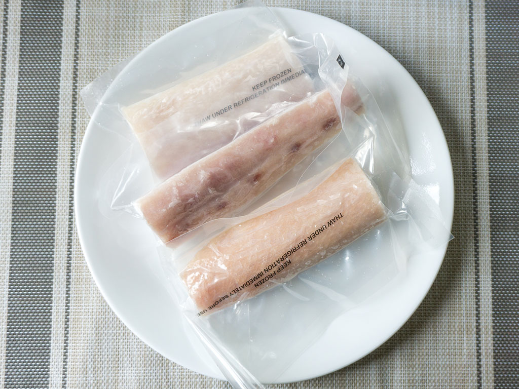 Walmart Premium Mahi Mahi Fillets in the bag