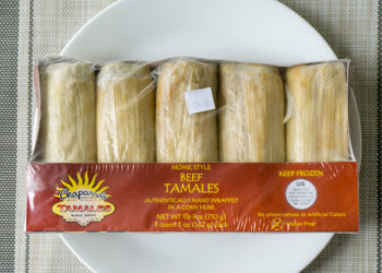 Review: Chapparo's Beef Tamales