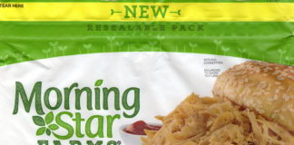 MorningStar Farms Veggie Pulled Pork packaging front