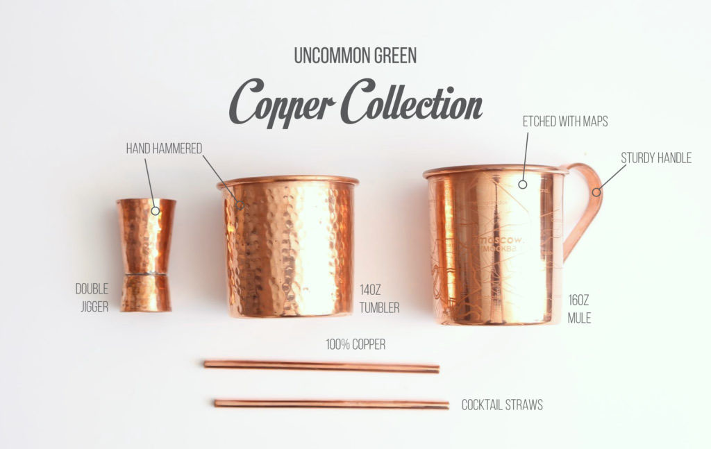 Uncommon Green Copper Collection