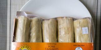 Chapparos Pork Tamales package