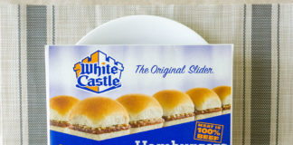 White Castle Hamburger Sliders
