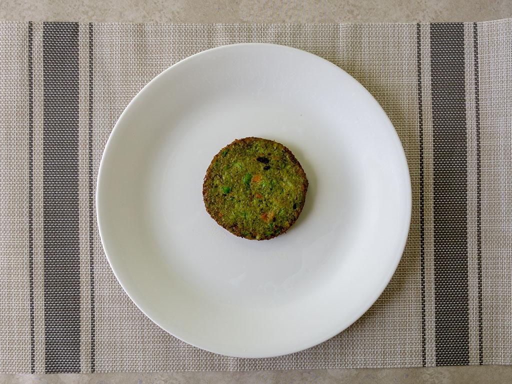 dr Praeger's California Veggie Burgers cooked