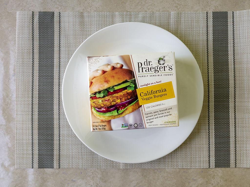 dr Praeger's California Veggie Burgers