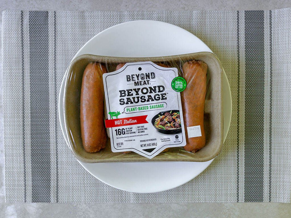 The Beyond Sausage - Hot Italian Sausage