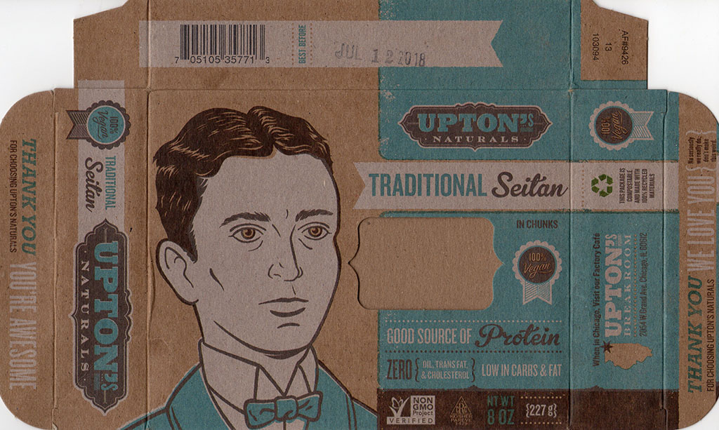 Upton's Naturals Traditional Seitan package front