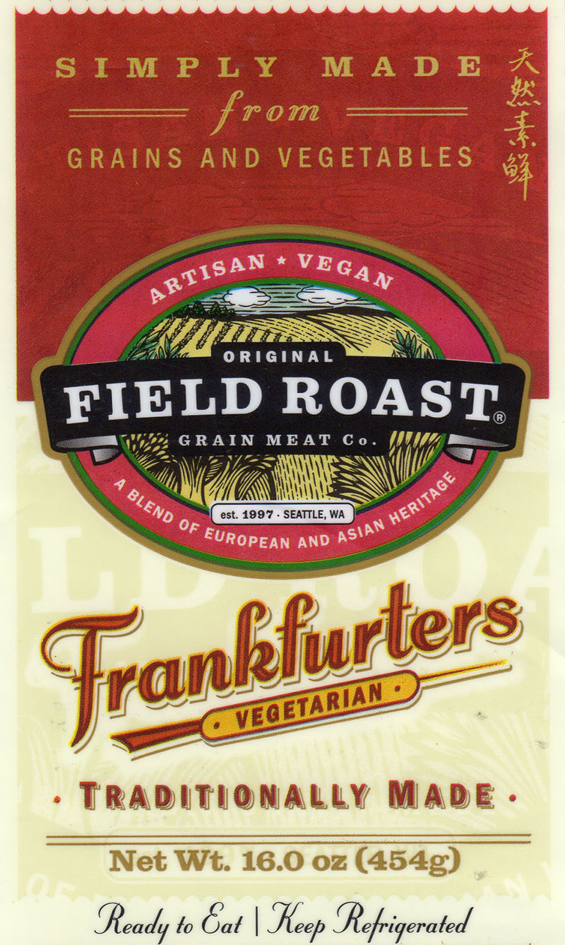 Field Roast Frankfurters package front
