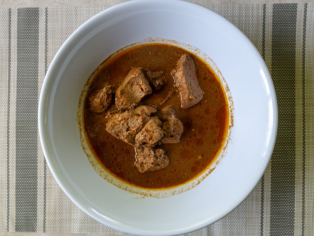Kroger Beef Barbacoa cooked