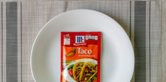 McCormick Hot Taco Seasoning packet