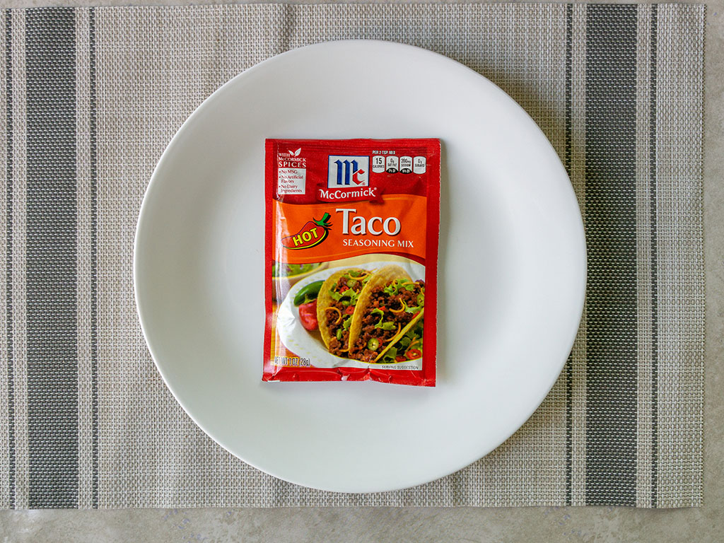 McCormick Hot Taco Seasoning packet