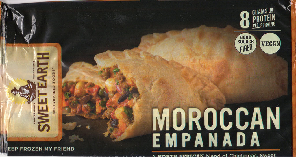 Sweet Earth Moroccan Empanada package front