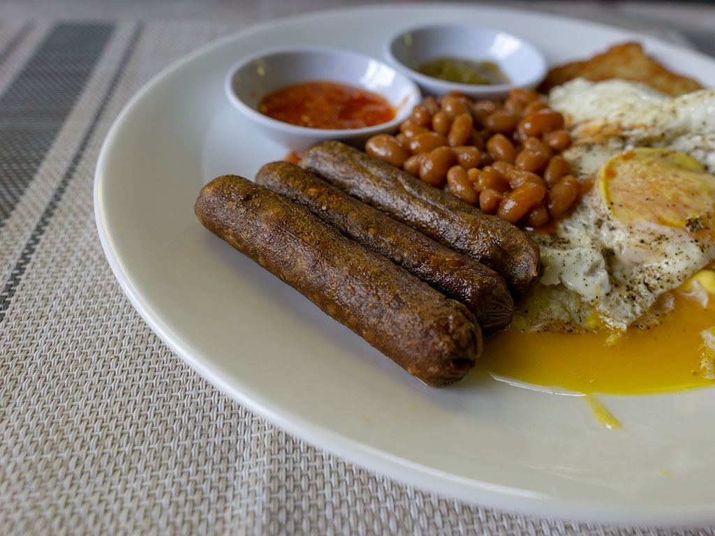 MorningStar Farms Veggie Breakfast Sausage Links close up