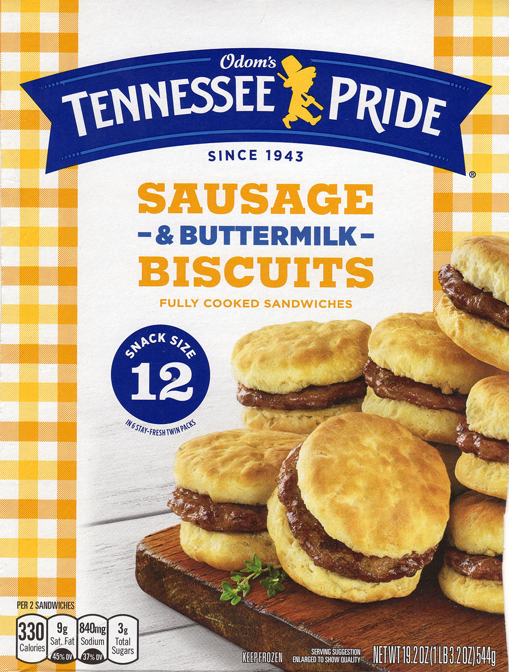 Odom's Tennessee Pride Sausage And Buttermilk Biscuits - more packaging