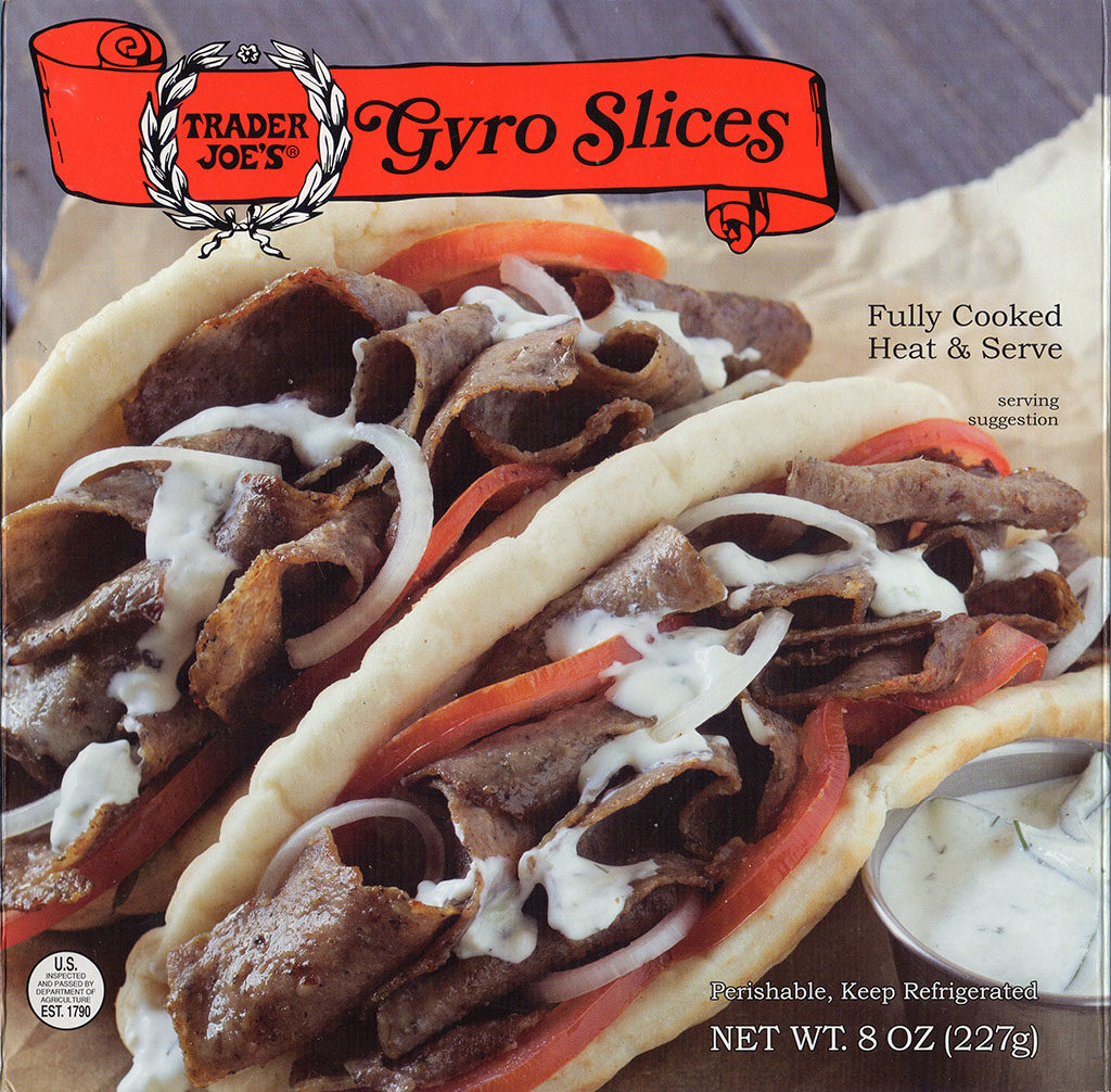 Trader Joe's - Gyro Slices packaging front
