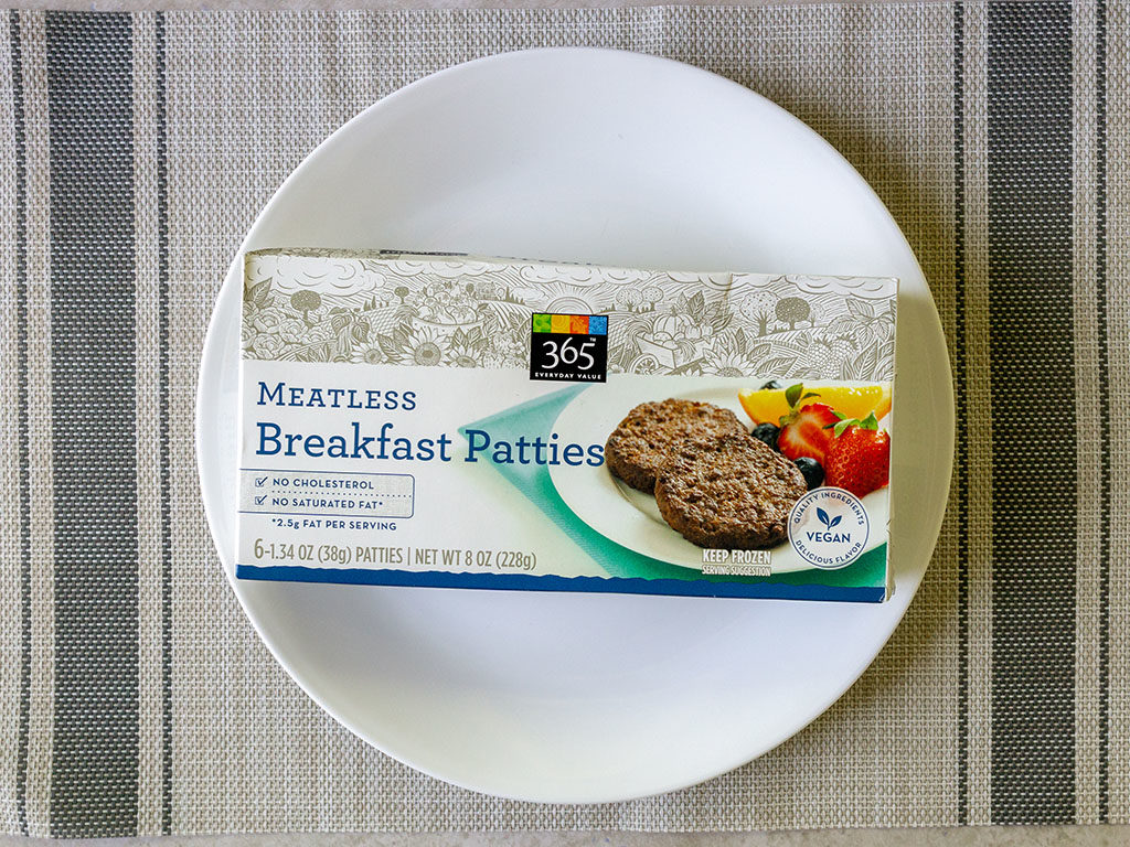 365 Meatless Breakfast Patties
