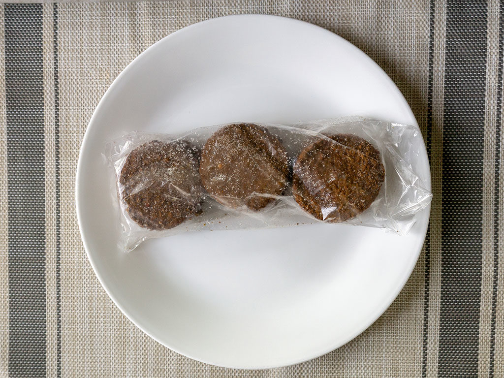 365 Meatless Breakfast Patties - whats in the box