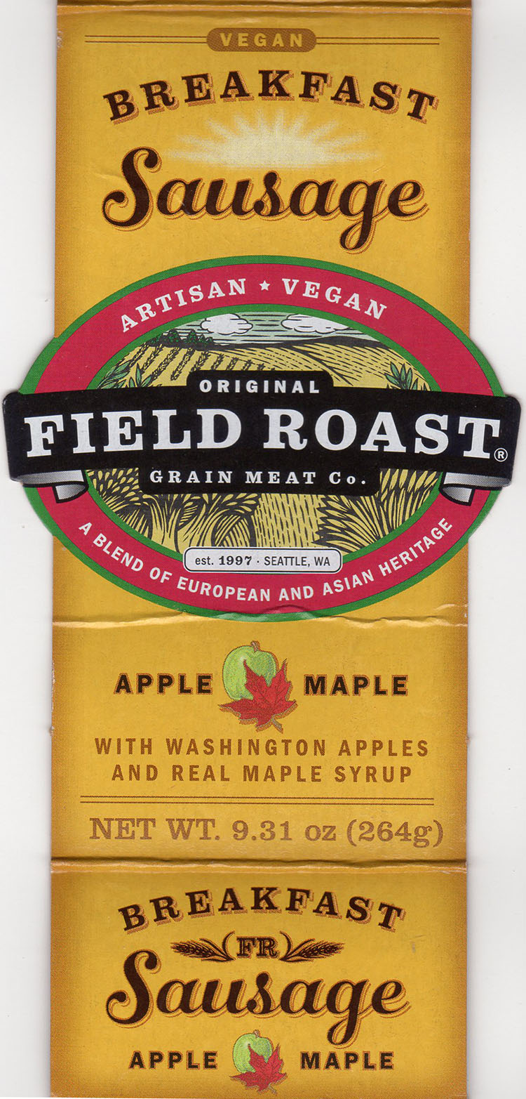 Field Roast Breakfast Sausage - package front