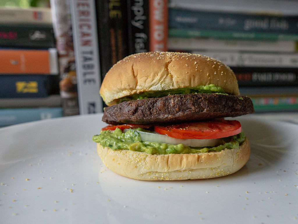 MorningStar Farms Meat Lovers Vegan Burgers - guacamole burger