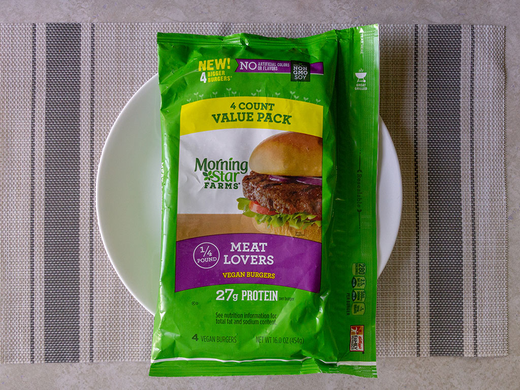 Review Morningstar Farms Meat Lovers Vegan Burgers
