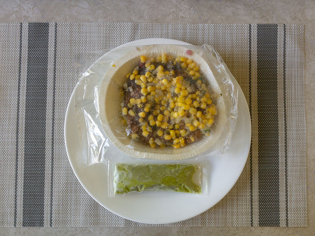 Sam's Choice Beef Barbacoa Burrito Bowl - what's in the box