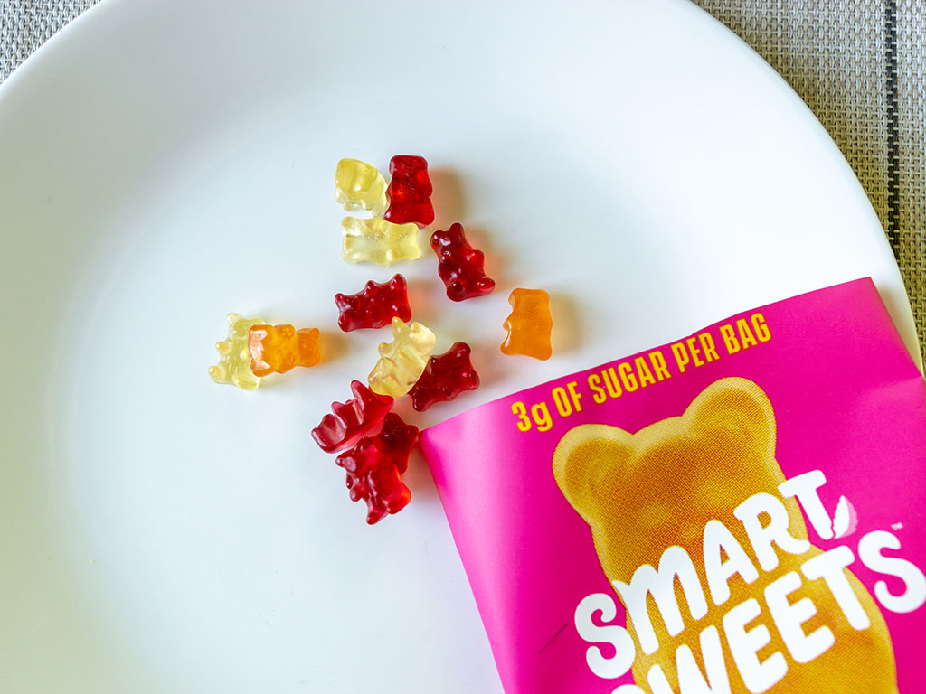Smart Sweets Gummy Bears sweet out of bag