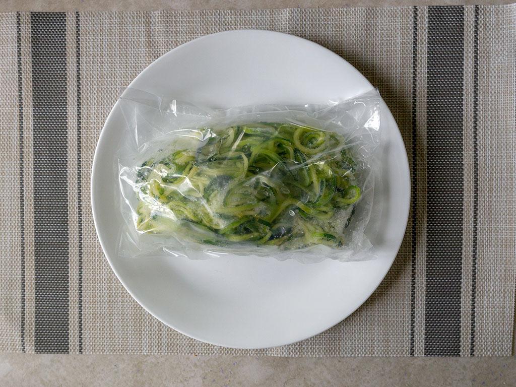 Trader Joe's Zucchini Spirals - what's in the box