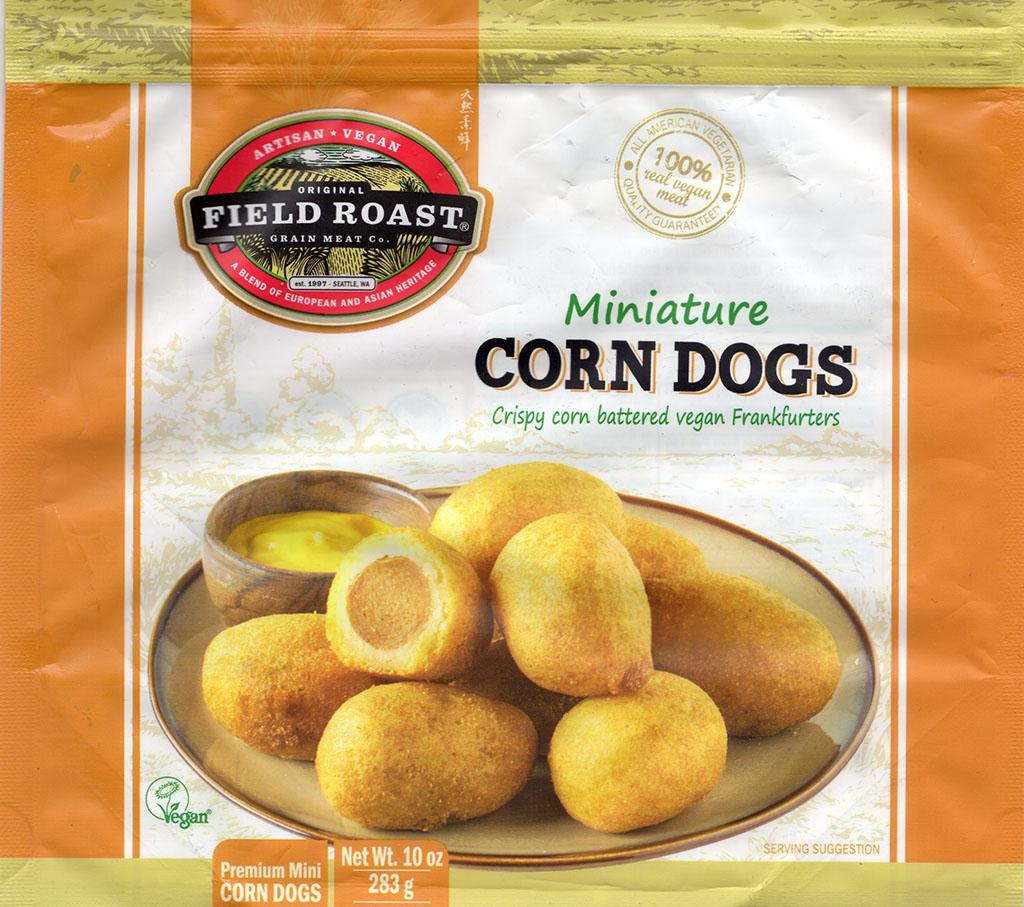 Field Roast Miniature Corn Dogs package front