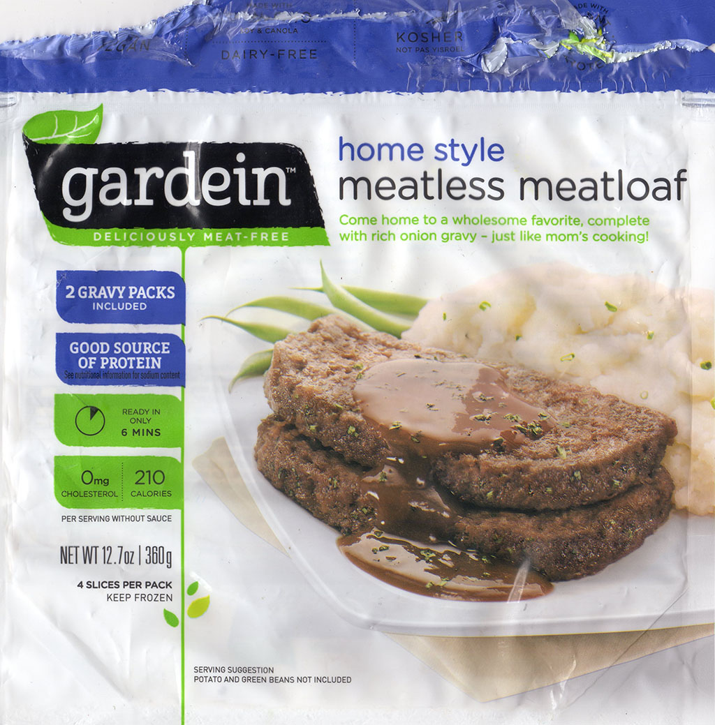 Gardein Home Style Meatless Meatloaf package front
