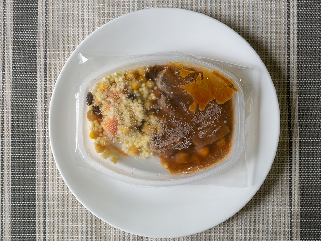 Lean Cuisine Marketplace Moroccan-Style Spiced Beef - whats in the box