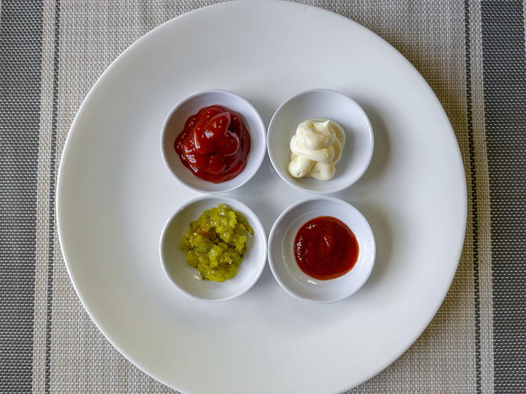 The Perfect Burger - burger sauce ingredients