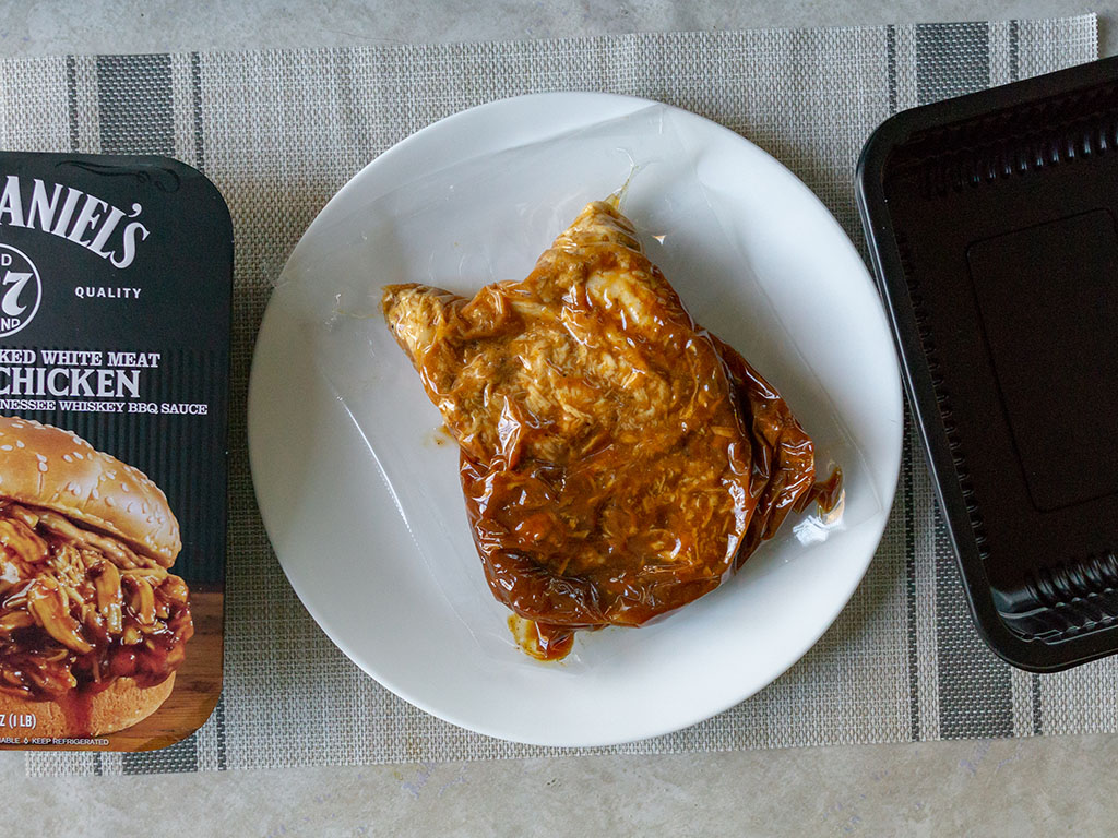 Jack Daniel's Pulled Chicken - what's in the box