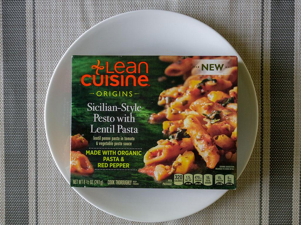 Lean Cuisine Origins Sicilian-Style Pesto With Lentil Pasta