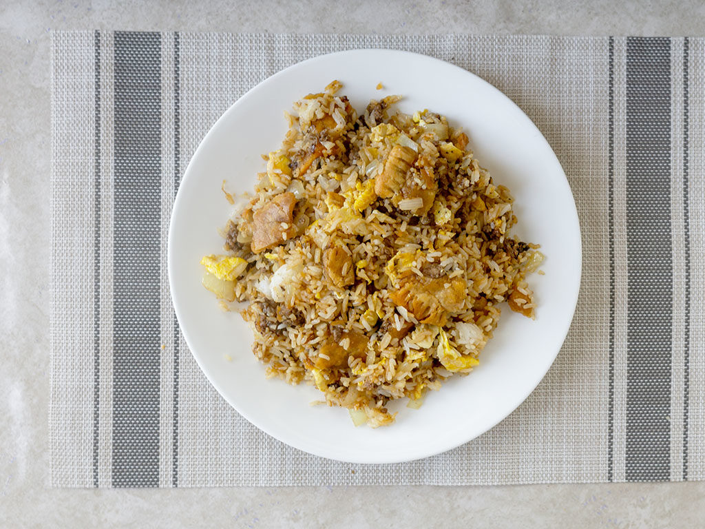 Pie Fried Rice
