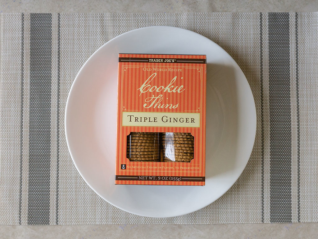 Trader Joe's Triple Ginger Cookie Thins