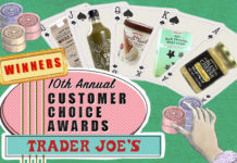 Customer Choice Winners (Trader Joe's)
