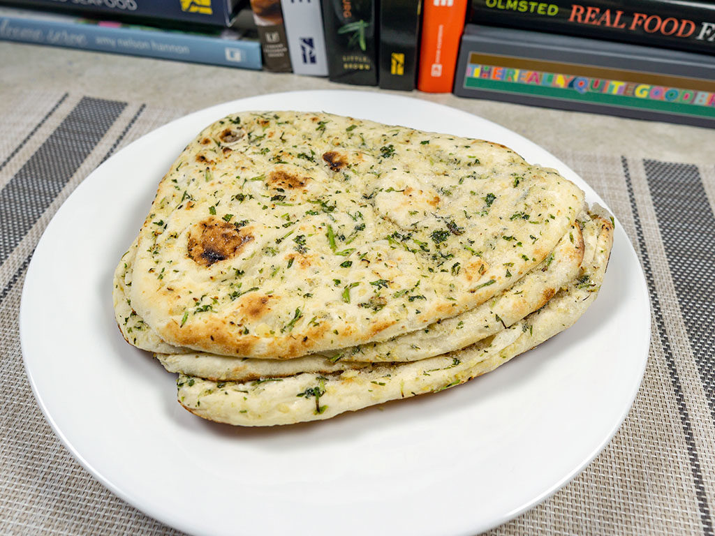 Trader Joe's Garlic Naan - what's in the bag?
