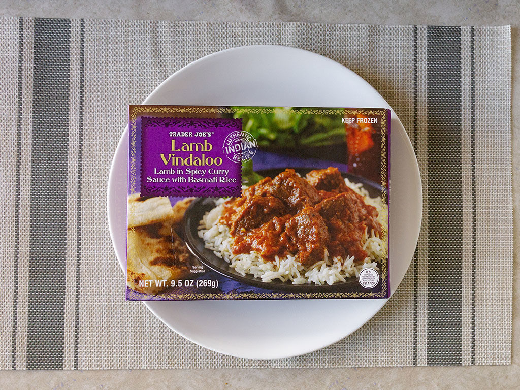 Trader Joe's Lamb Vindaloo
