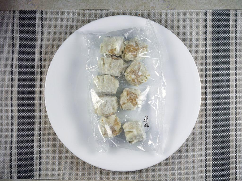 Trader Joe's Pork Shu Mai - what's in the box