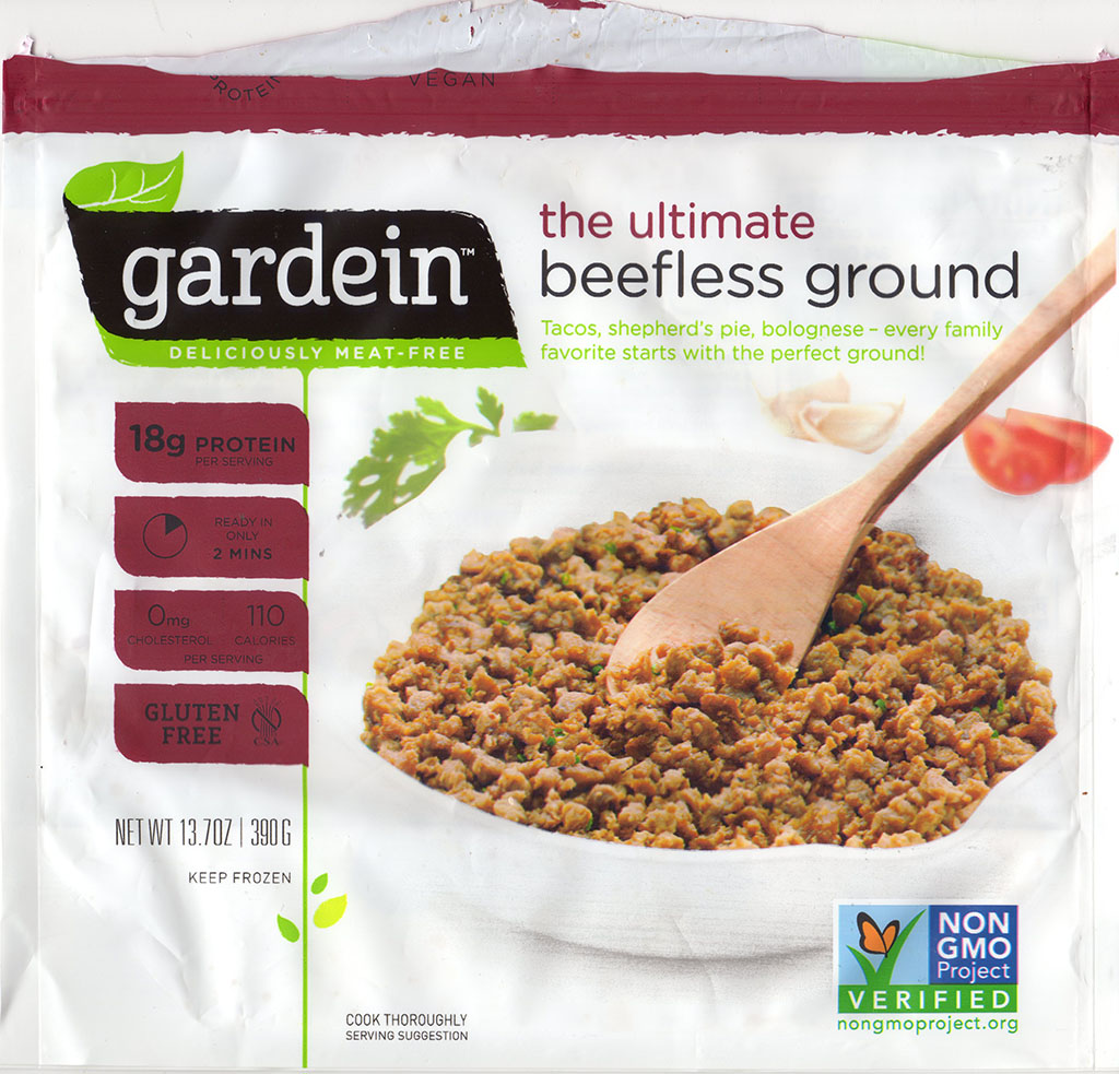 Gardein The Ultimate Beefless Ground package front