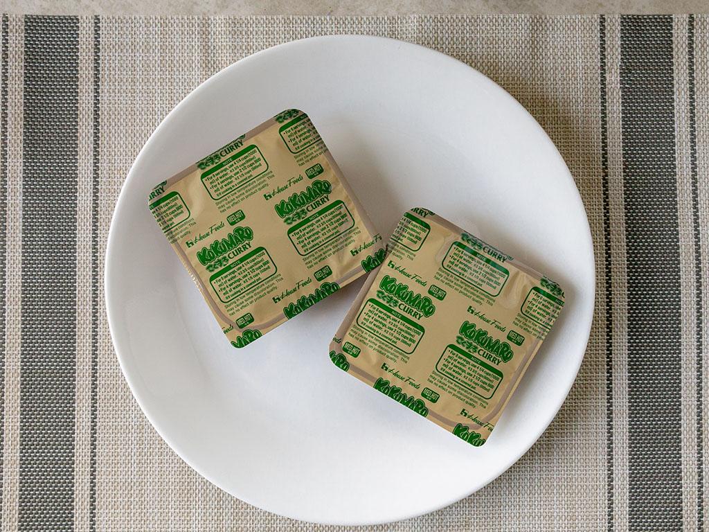 House Foods Kokomaru Curry whats in the box