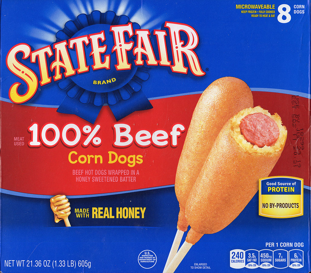 State Fair Beef Corn Dogs package front