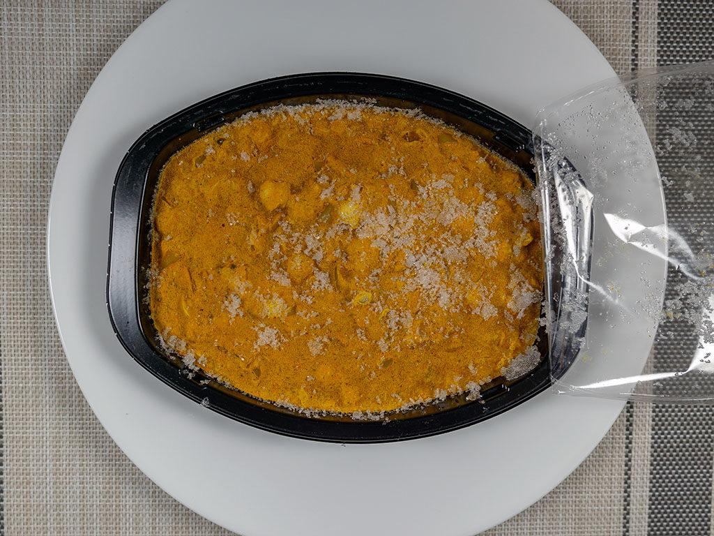 Trader Joe's Channa Masala cooked and plated
