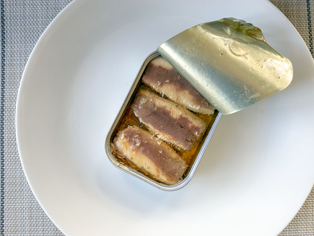 Crown Prince Skinless And Boneless Sardines in the can