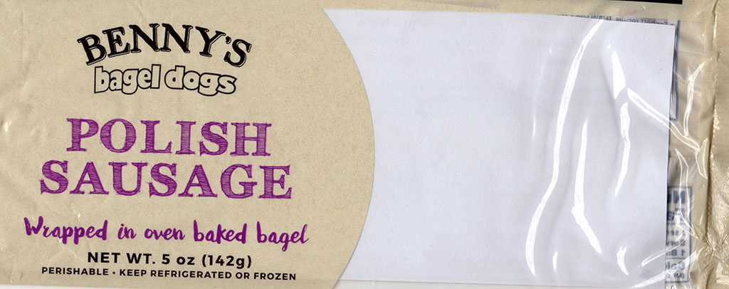 Benny's Bagel Dogs Polish Sausage uncooked package front